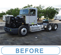 Fleet truck was repainted, click for details ... McQueeney Collision Inc. Central Texas